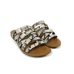 Louise et Cie  Snakeskin Strappy Sandals Size 9.5M